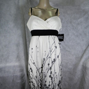 Nine West Cream and Black Dress. NWT.  10
